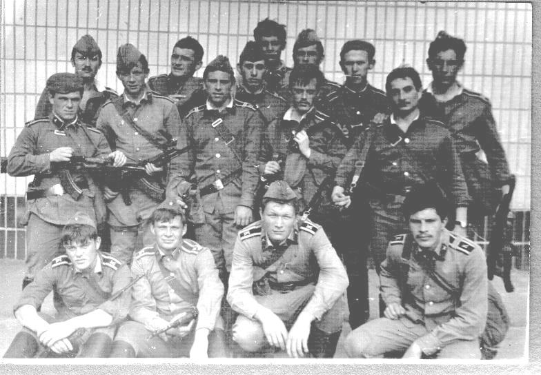 42 (142) взвод 1983