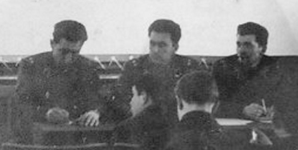 КД 4 (1975-1976г.г.) п/п-к Тараба Олег Тимофеевич, ЗКПЧ див-на Затуловский И. М., секр. ВЛКСМ див-на
